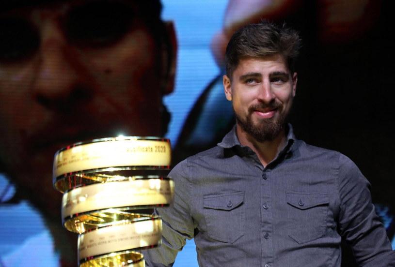 Peter Sagan na prezentacji trasy 103. edycji Giro d'Italia /PAP/EPA
