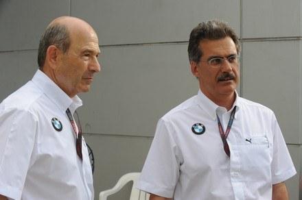 Peter Sauber i Mario Theissen - jeszcze razem /
