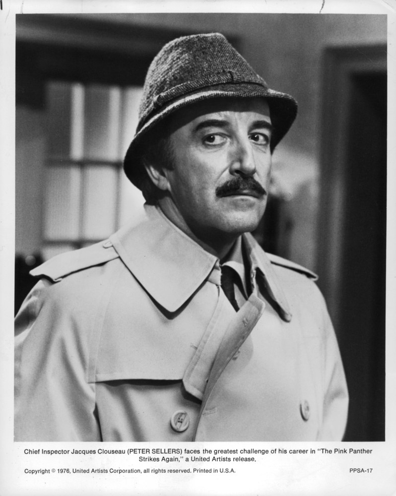 Peter Sellers jako inspektor Jacques Clouseau /UNITED ARTISTS  /Getty Images