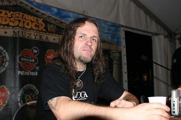 Peter (Vader) zagra z kolegami przed Slayerem i Megadeth /INTERIA.PL