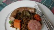 Petit salé czyli danie z soczewica na zime