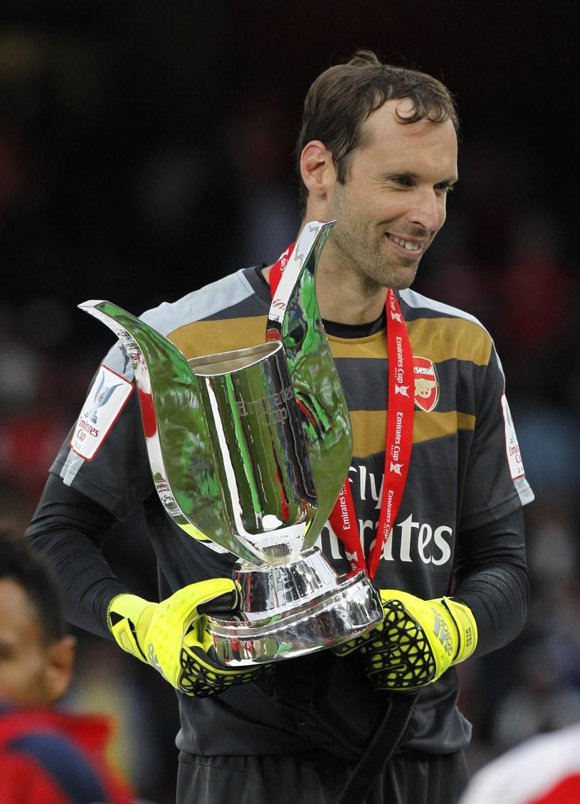 Petr Czech już w Arsenalu. /AFP