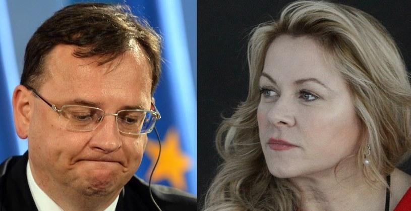 Petr Necas i Jana Nagyova /AFP