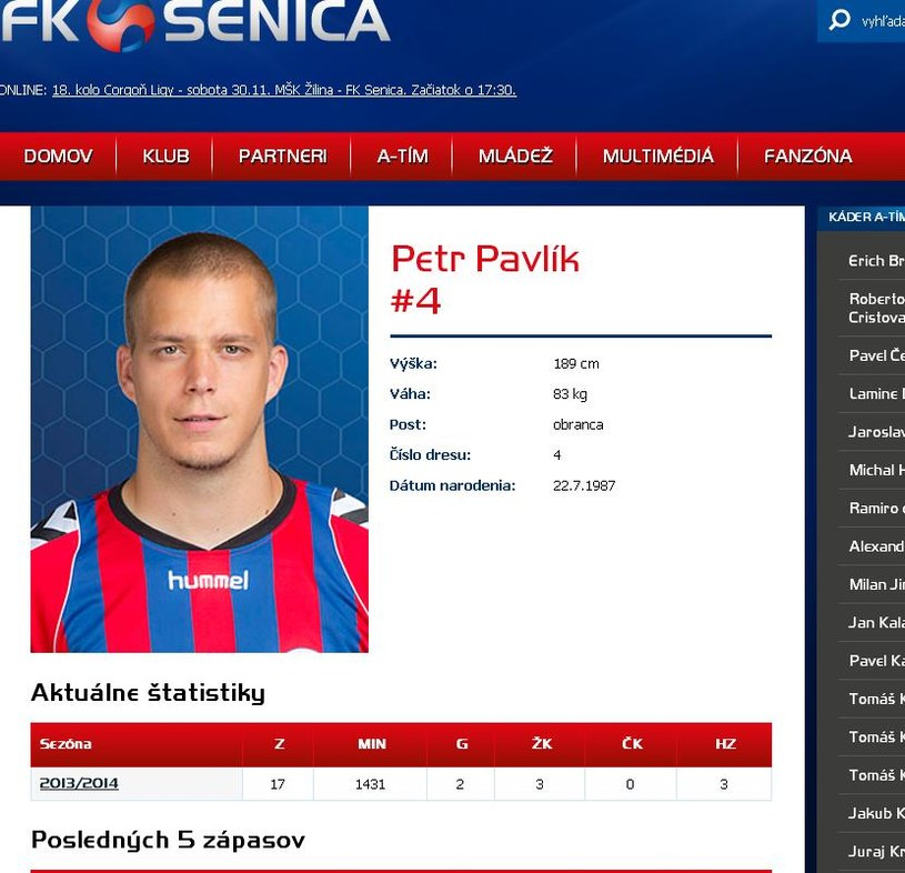 Petr Pavlik. /INTERIA.PL