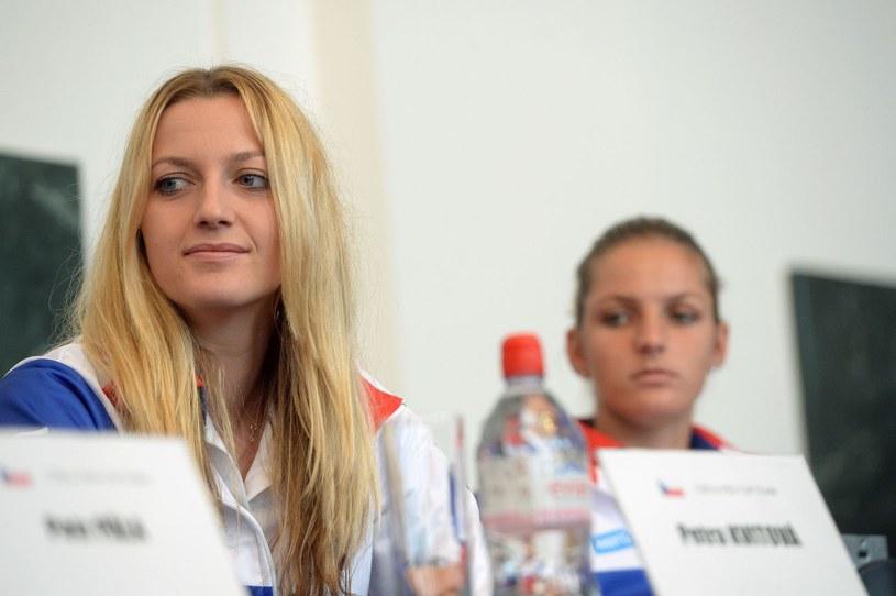 Petra Kvitova i Karolina Pliszkova /AFP