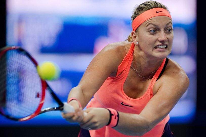Petra Kvitova (na zdjęciu) w finale zmierzy się z Moniką Niculescu /AFP