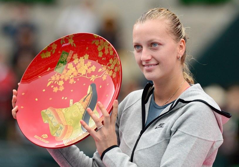 Petra Kvitova triumfuje /AFP