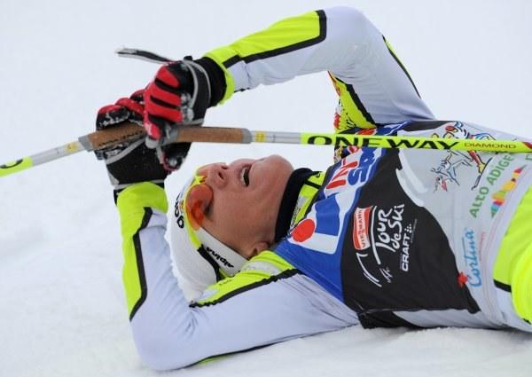 Petra Majdic już zakończyła swój udział z igrzyskach /AFP
