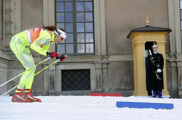 Petra Majdić, najlepsza w Sztokholmie i w klasyfikacji sprintu w tym sezonie /PAP/EPA