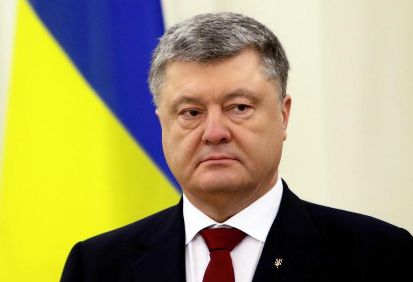 Petro Poroszenko grozi procesami telewizji Kołomojskiego /PETRAS MALUKAS /AFP