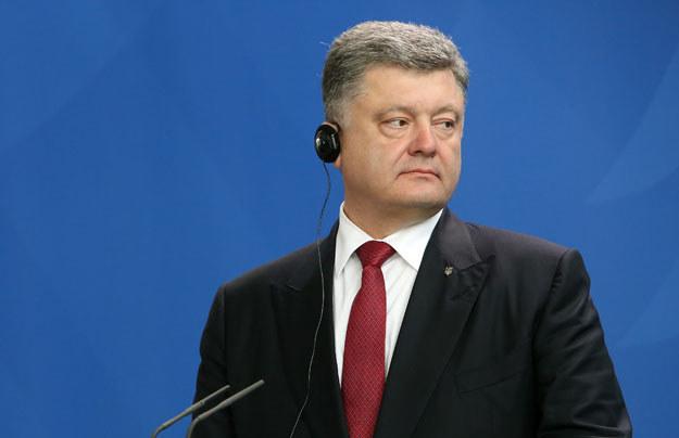 Petro Poroszenko nie jest gotowy do rozprawienia się z tym chorym systemem fot. Adam Berry /AFP