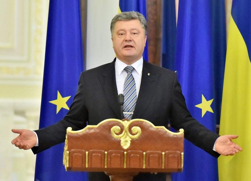 Petro Poroszenko wierzy, że Ukraina wejdzie do NATO /AFP