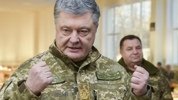 Petro Poroszenko wzywa NATO do wysłania okrętów na Morze Azowskie