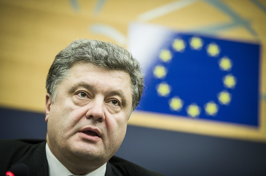 Petro Poroszenko /Wiktor Dabkowski    /PAP