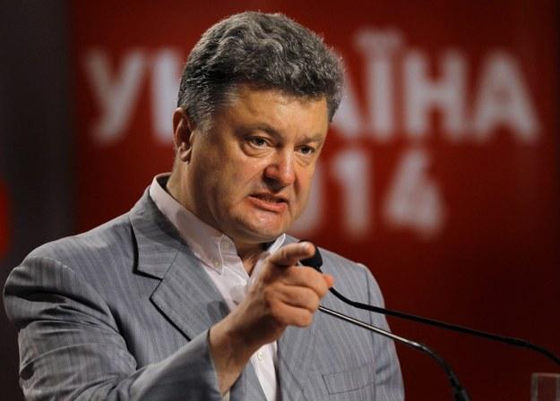 Petro Poroszenko /ROBERT GHEMENT /PAP/EPA