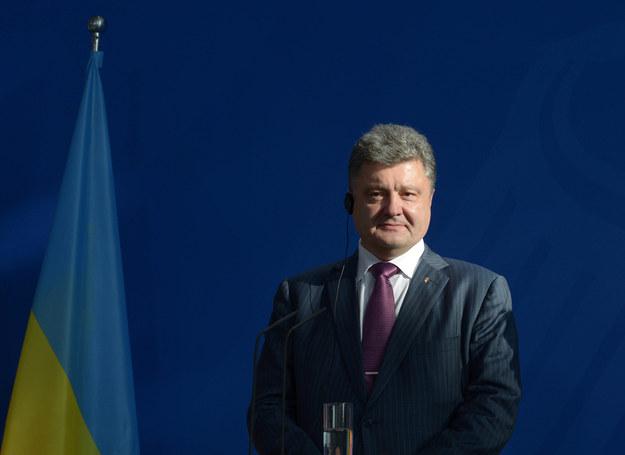 Petro Poroszenko /Rainer Jensen /PAP/EPA