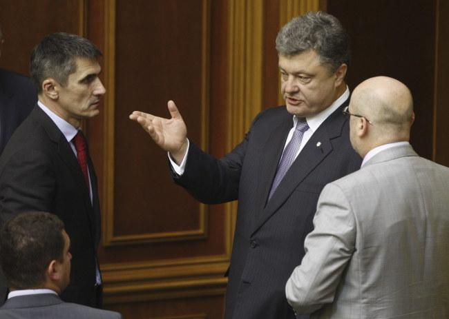 Petro Poroszenko /YURI MAXIMOV /PAP/EPA