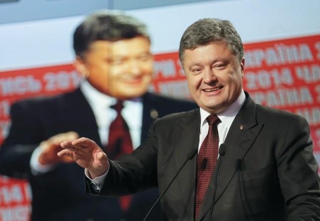 Petro Poroszenko /SERGEY DOLZHENKO /PAP/EPA