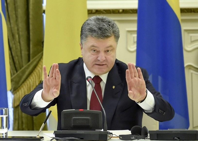Petro Poroszenko /AFP