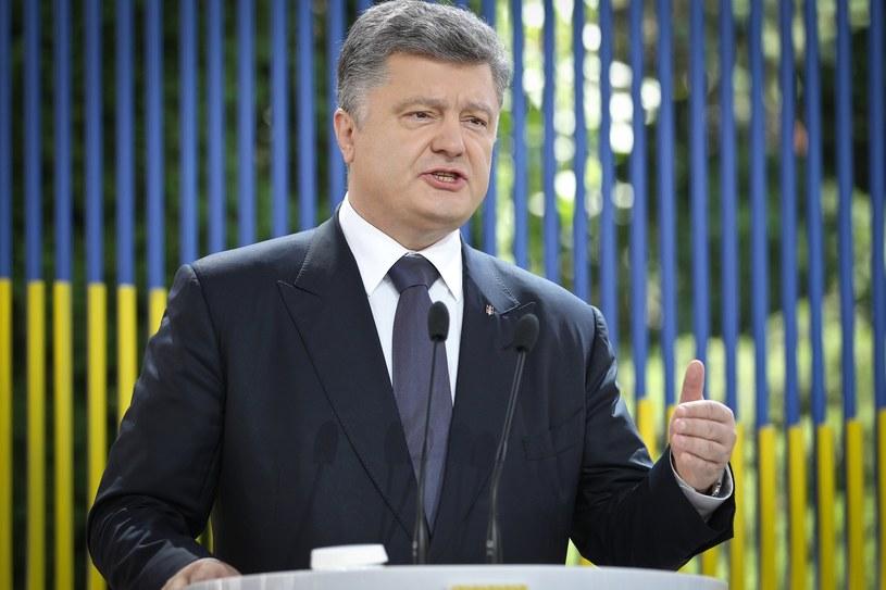 Petro Poroszenko /Ukrafoto /East News