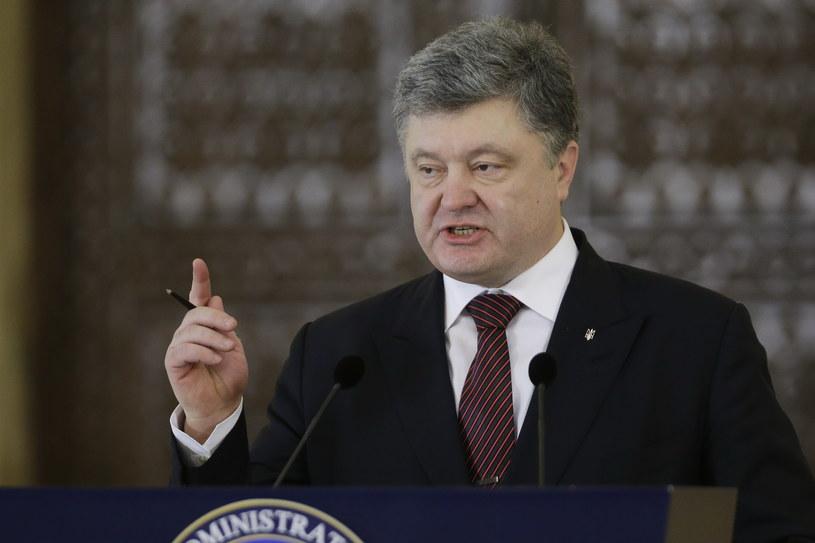Petro Poroszenko /STR /AFP