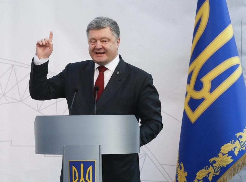 Petro Poroszenko /PAP/EPA