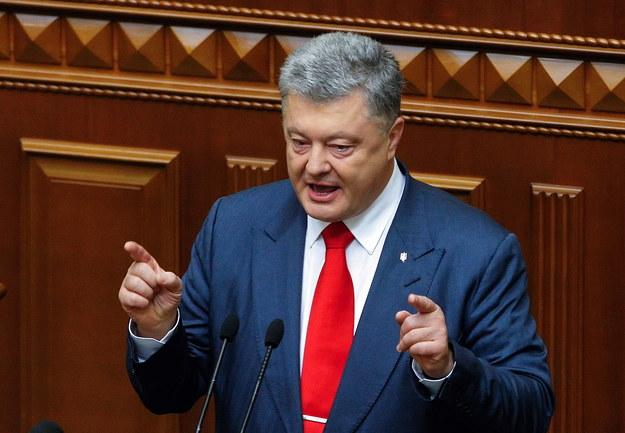 Petro Poroszenko /STEPAN FRANKO /PAP/EPA
