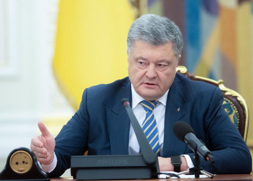 Petro Poroszenko /MYKHAILO MARKIV / POOL /PAP/EPA