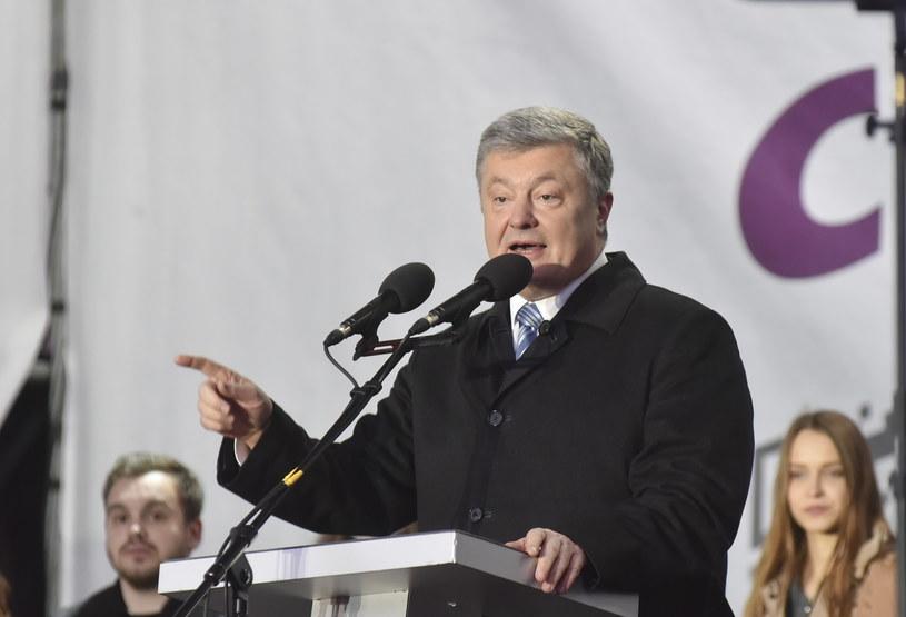 Petro Poroszenko /MYKOLA BARSKIY /PAP/EPA