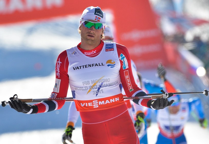 Petter Northug stracił ulubione narty /AFP
