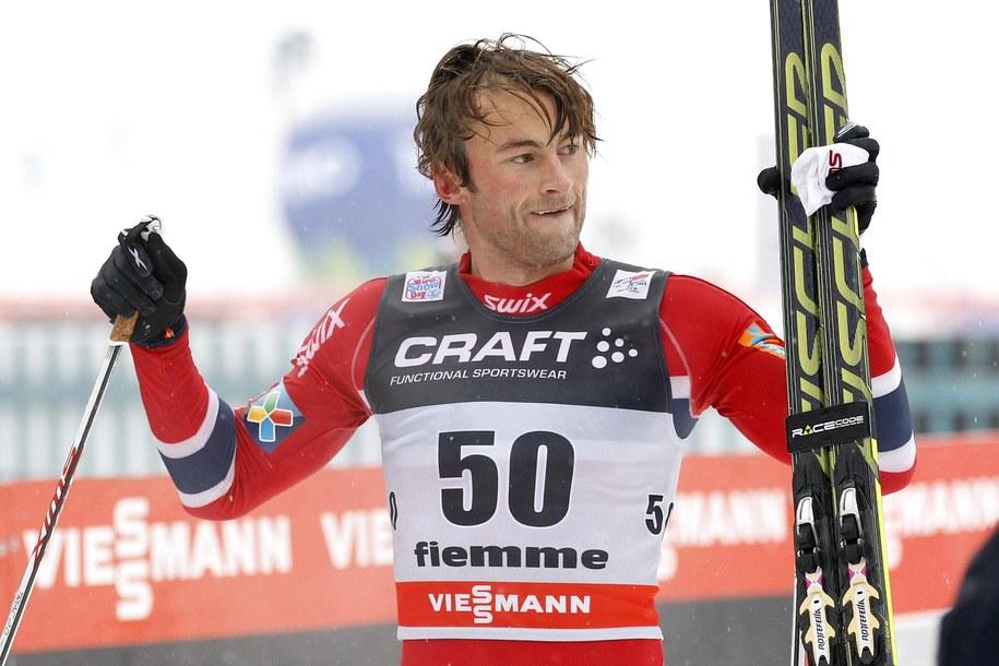 Petter Northug / ANDREA SOLERO  /PAP/EPA