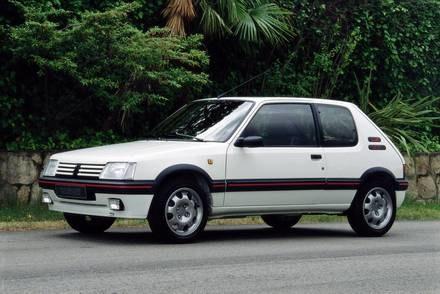 Peugeot 205 / Kliknij /INTERIA.PL