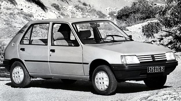 Peugeot 205 /Motor