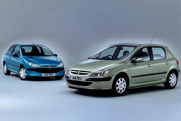 Peugeot 206 i 307 (kliknij) /INTERIA.PL