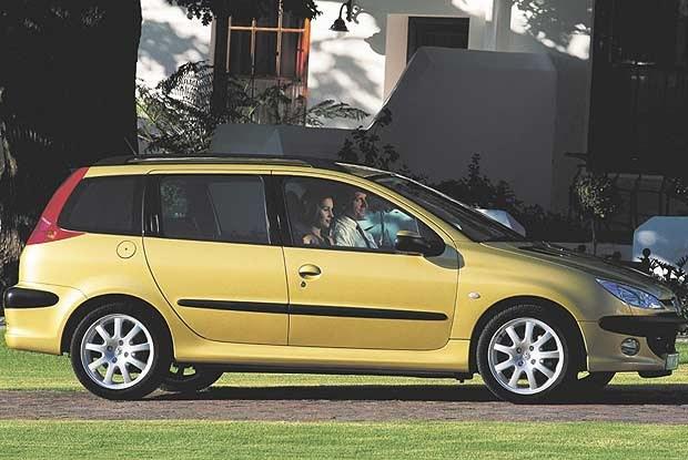 Peugeot 206 SW (kliknij) /INTERIA.PL