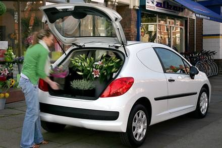 Peugeot 207 van / Kliknij /INTERIA.PL