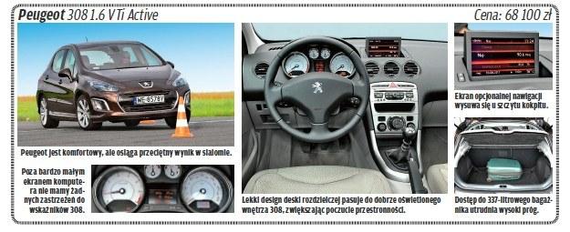 """Peugeot 308 /tygodnik """"Motor"""""""