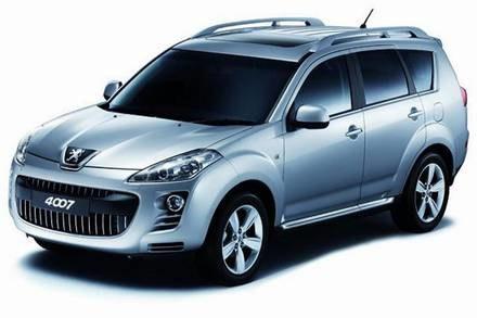 Peugeot 4007 / Kliknij /INTERIA.PL