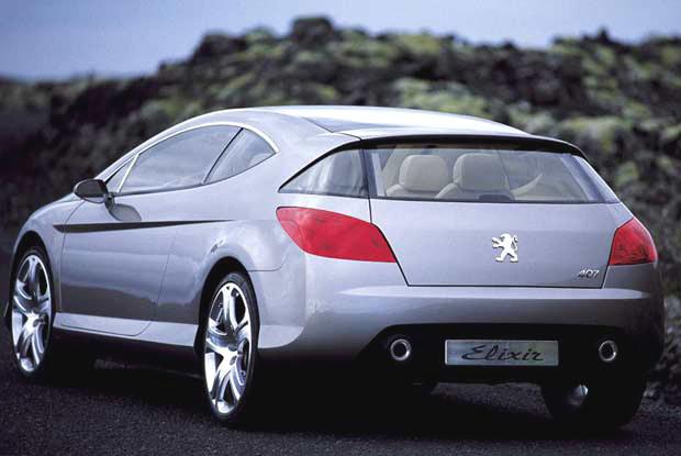Peugeot 407 Elixir (kliknij) /INTERIA.PL