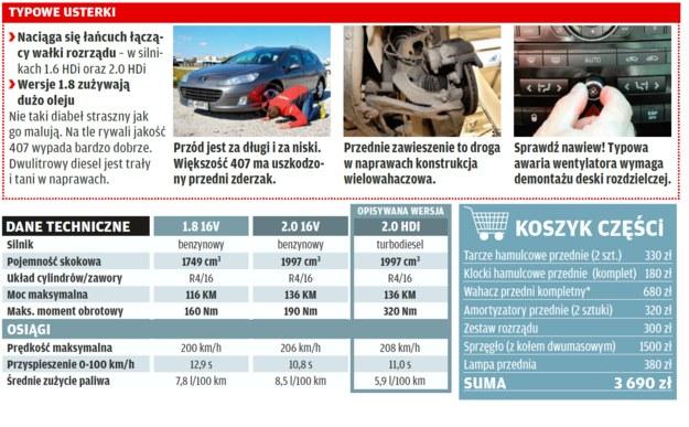 Peugeot 407 /Motor