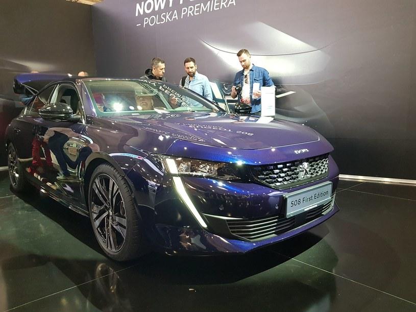 Peugeot 508 w Poznaniu /INTERIA.PL