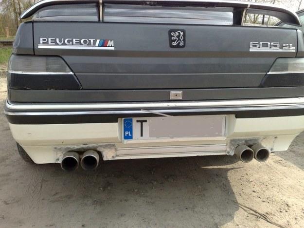 Peugeot 605 w wersji M