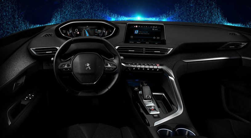 Peugeot i-Cockpit /materiały prasowe