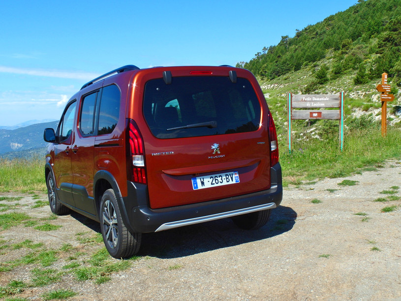 Peugeot Rifter /INTERIA.PL