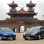 Peugeoty i Citroeny w Chinach