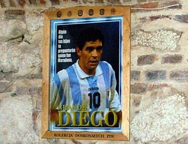 """""""Pewnego dnia Twoi synowie zapytają Cię, kim był Maradona"""" /INTERIA.PL"""