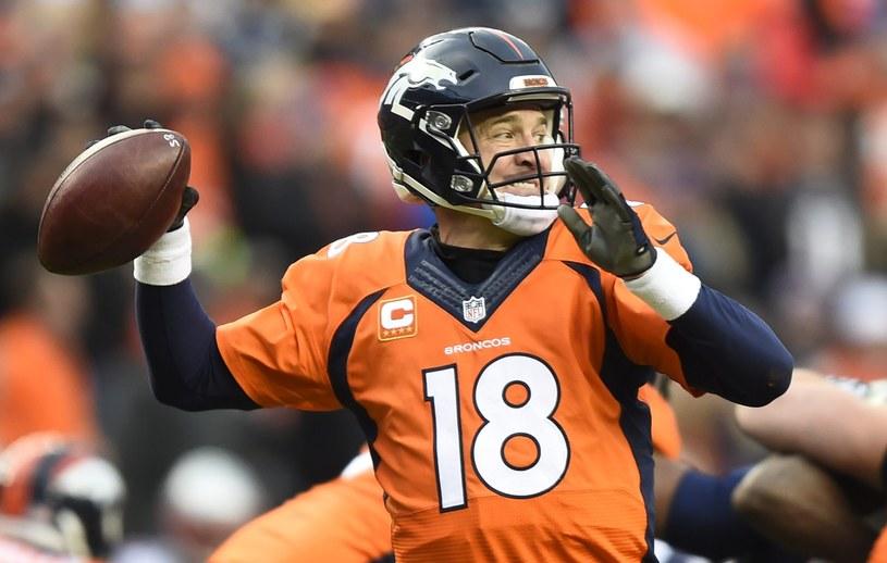Peyton Manning z Denver Broncos /PAP/EPA