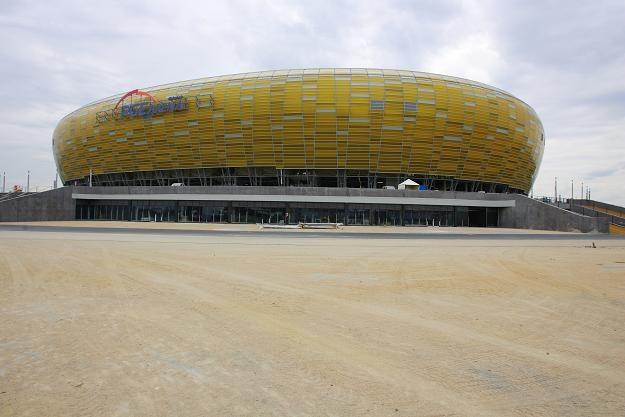PGE Arena w Gdańsku nie jest jeszcze gotowa na przyjęcie piłkarzy Niemiec i Polski. /PAP