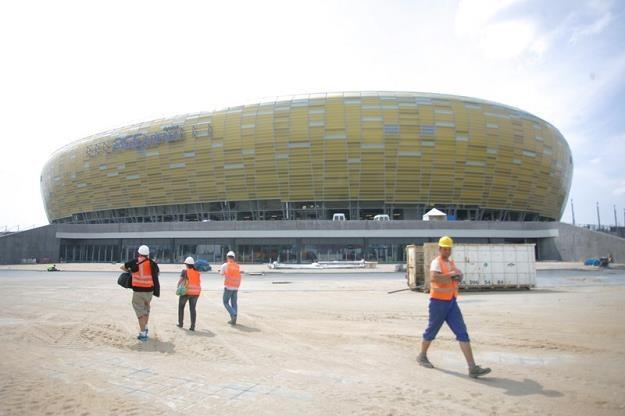 PGE Arena w Gdańsku (w czasie budowy). Fot. MIROSLAW PIEŚLAK /Agencja SE/East News