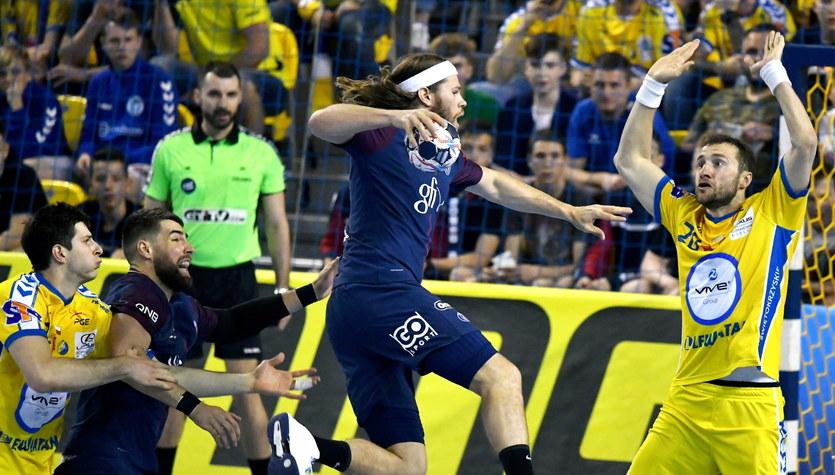 PGE VIVE Kielce - Paris Saint-Germain 28-34 w ćwierćfinale Ligi Mistrzów piłkarzy ręcznych